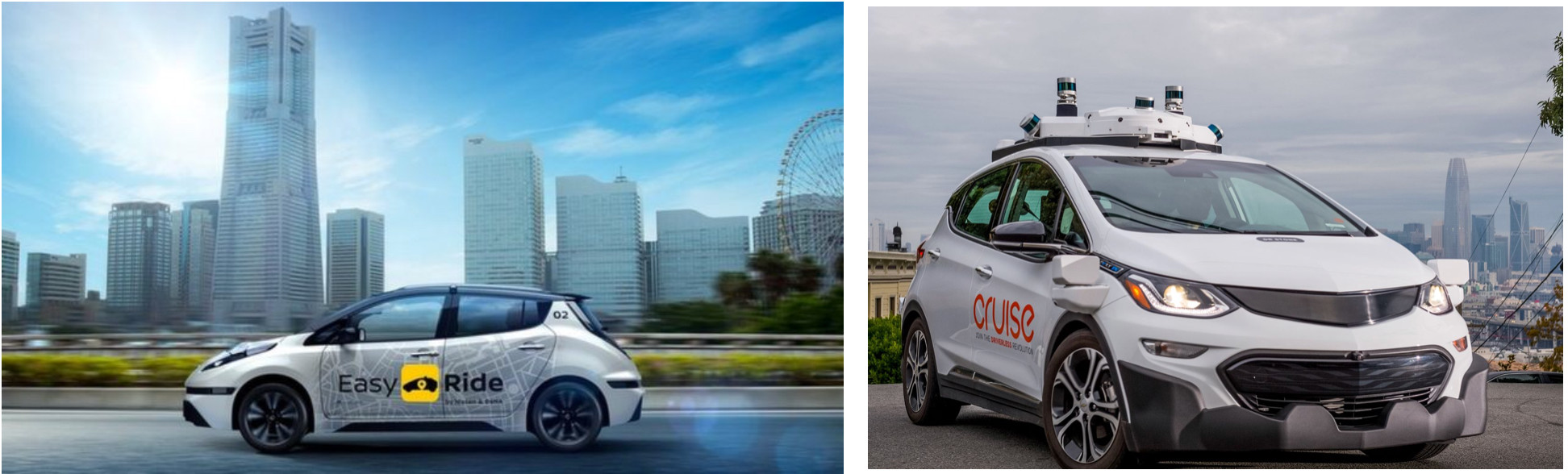 Your future taxi will be run by Automakers and Tech companies !
